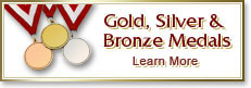 Gold/Silver/Bronze Medals